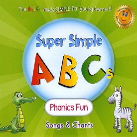 【幼児・小学生にオススメ 英語教材】スーパー・シンプル・ABCs-フォニックス ファン CD Super Simple ABCs - Phonics Fun CD