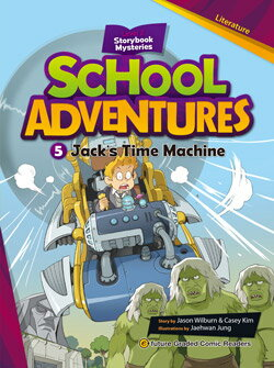 School Adventures Graded Comic Readers 2-5: Jack's Time Machine (with CD)