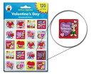 【シール・スティッカー 英語教材】バレンタインズデイ スティッカー Valentine's Day Stickers