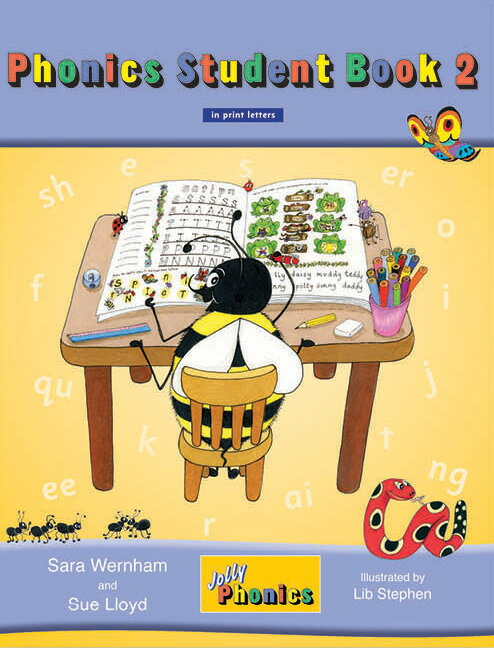 Jolly Phonics Student Book 2 (in print letters)