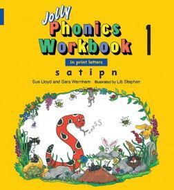【幼児・小学生にオススメ 英語教材】ジョリー フォニックス ワークブック 1 Jolly Phonics Workbook 1(in print letters)