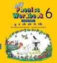 【幼児・小学生にオススメ 英語教材】ジョリー フォニックス ワークブック 6 Jolly Phonics Workbook 6(in print letters)