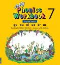 【幼児・小学生にオススメ 英語教材】ジョリー フォニックス ワークブック 7 Jolly Phonics Workbook 7(in print letters)