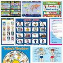 Advanced Poster Set (8 種類の商品)【幼児・小学生・中学生にオススメ 英語教材・ポスターセット】