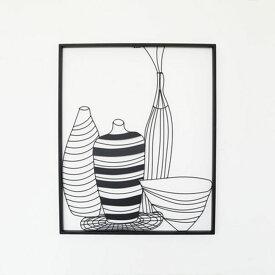 壁飾り インテリア デコレーション 壁掛け 絵 花瓶 雑貨 living 壁面飾り アイアン アンティーク ウォールディスプレイ おしゃれ アイアン雑貨 新築祝い 壁装飾 壁インテリア アート 金属 高級