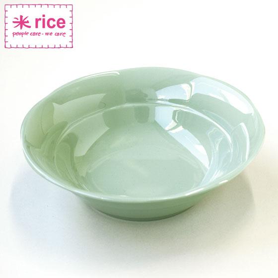 ボウル プラスチック メラミン 割れにくい かわいい おしゃれ カラフル 食器 北欧食器 輸入食器 ボウル 北欧 デンマーク rice ライス メラミンボウル カーキ