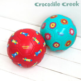 サッカーボール 子供 サッカー ボール おしゃれ かわいい 外遊び 輸入玩具 アメリカ crocodile creek クロコダイルクリーク サッカーボール