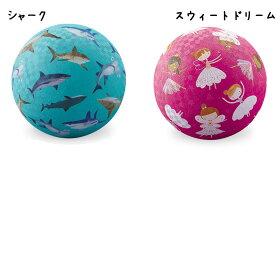 ゴムボールラバーボールボール外遊び子供用かわいい輸入玩具アメリカcrocodilecreekクロコダイルクリークナチュラルラバーボール18cm