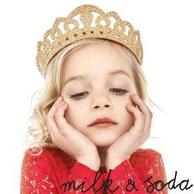 milk&soda(ミルク&ソーダ)ティアラヘアバンド