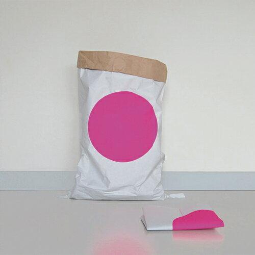 ペーパーバッグ 収納 おしゃれ かわいい インテリア 収納袋 紙 インテリア雑貨 ドイツ製 kolor カラー ペーパーストレージバッグdot