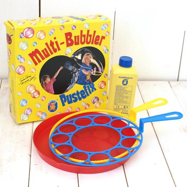 シャボン玉 おもちゃ 水遊び シャボン玉遊び PUSTEFIX社 プステフィックス シャボン玉 Wリング型