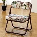 折りたたみ座椅子 ローチェアー 完成品 座面低め 正座が出来ない人用 和室 居間 玄関 仏間 集会 法要 釣り 観戦 軽く…