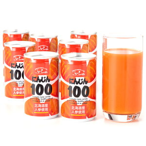 北海道産 ふらの にんじん100 缶160g 30本 富良野 無添加 人参ジュース にんじんジュース ニンジンジュース ジュースセット 人参 ジュース