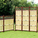天然竹 竹垣 3枚組 縦型 (タテ) 目隠しフェンス 目隠し竹垣 間仕切り 和風 エクステリア