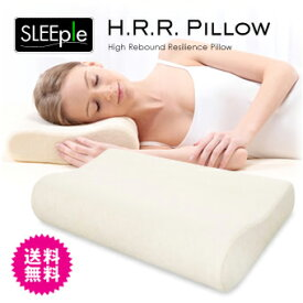 睡眠サポート 枕 高反発 快眠まくら H.R.Rピロー 高反発まくら SLEEple/スリープル 高反発枕 まくら ピロー ウレタン