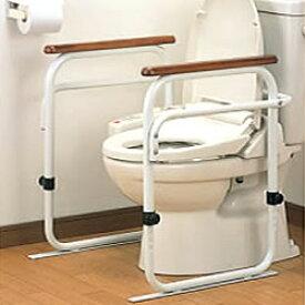 工事不要 トイレ用アーム 日本製 洋式トイレ 据置 トイレ 手すり 介護 リハビリ 洋式アーム 据置用 立ち上がり 介護用品 福祉