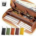 全5色 牛革長財布 豊岡 財布 日本製 大容量 コインが分けられる 牛革長財布 レディー...