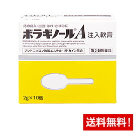 【第(2)類医薬品】ボラギノールA注入軟膏 10個