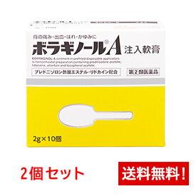 【第(2)類医薬品】ボラギノールA注入軟膏 10個×2箱セット