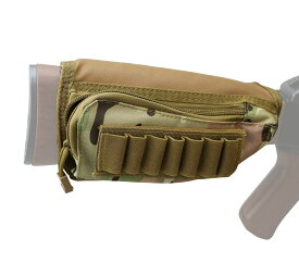 送料無料 ショットガン シェル マガジンホルダー M3 マガジンポーチ マガジン バットストック ストックポーチ ベルクロ式 エアガン シェル マルイ ケース