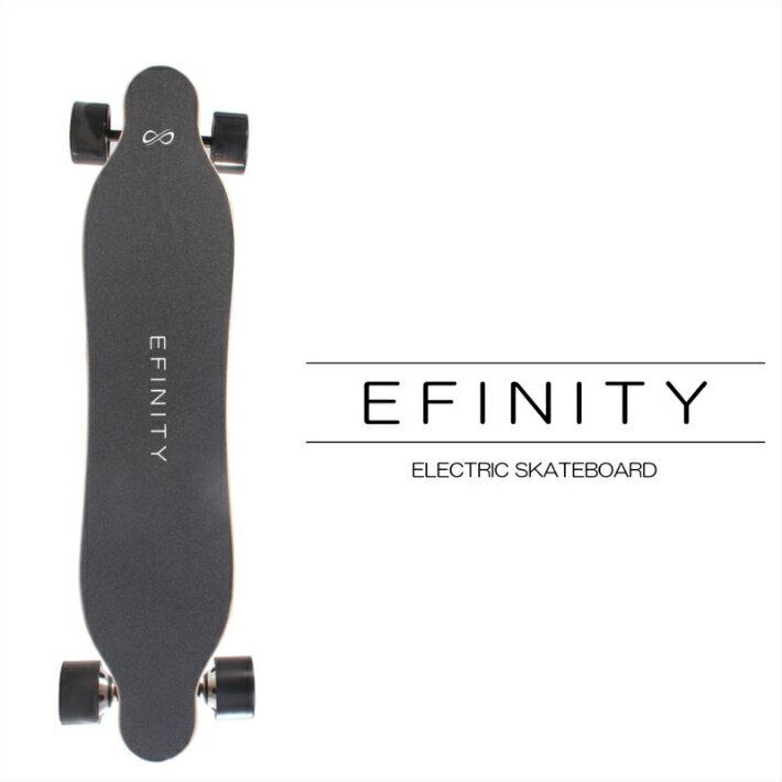 EFINITY TYPE1200R 1200W デュアルモーター 電動スケートボード 最大時速35km 電動スケボー ブレーキ付き 選べるモード キックボード