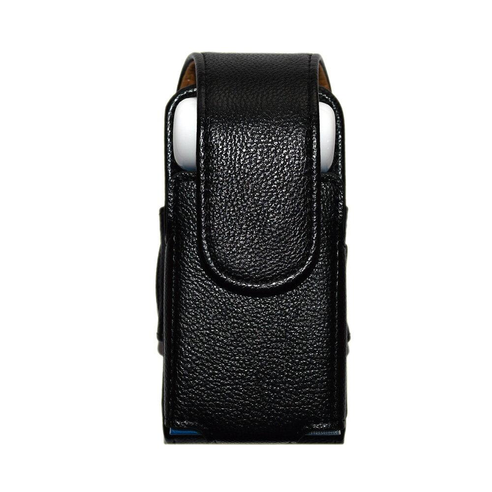 アイコス ケース 新型 iQOS 2.4 Plus ケース カバー PU レザー ブラック ベルト ベルト掛け カラフル アイコスケース iQOSケース アイコスカバー iQOSカバー カラビナ クリーナー ホルダー付 合皮 革 人気 電