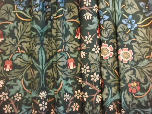 ウィリアムモリスWilliam Morrisの人気の10柄から選べるオーダーカーテン (MSミディアム・ショート)サイズ