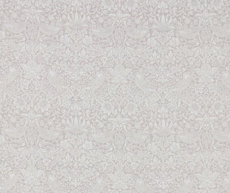 PURE MORRIS ピュアモリス226060【 ウィリアム・モリスWilliam Morris 226060ピュア ストロベリー スィーフ PURE STRAWBERRY THIEF 】ウィリアムモリス海外取り寄せ生地 1巾140センチ縦100cm単位カット販売