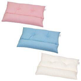 ストレートネック 枕 カラーネックフィット枕 小サイズ 35 × 50 cm 肩こり 首こり 首枕 矯正 高さ調節 洗える 日本製