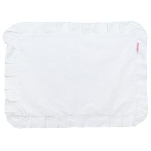 枕カバー枕まくらカバー43×63cm43×63cmサイズファスナー式無地フリル仕上げまくらカバー