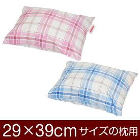 枕カバー 枕 まくら カバー 29×39cm 29 × 39 cm サイズ 封筒式 タータンチェック まくらカバー