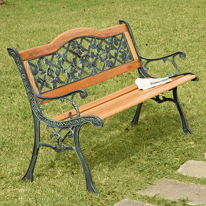 【送料無料】ガーデン パークベンチ ベンチ 北欧風 ロココ調 ゴシック系 屋外イス 屋外ベンチ 腰かけ 椅子 ガーデニング 庭 ガーデンベンチ アウトドアベンチ ガーデンファニチャー 長椅子