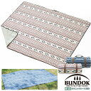 【送料無料】BUNDOK ピクニックシート200×170cm ネイティブ柄/BD-534/レジャーシート、ピクニックシート、アルミシー…