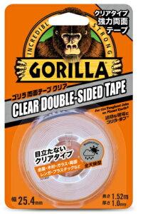 呉工業 KURE ゴリラテープ ゴリラ両面テープクリア