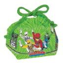 小森樹脂 動物戦隊ジュウオウジャー ランチ巾着 弁当袋
