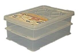 サンコー フードテナー No.5 クリア 蓋付きセット 2段 フードコンテナ
