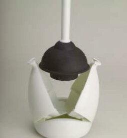 テラモト 洋式カップケース付 ラバーカップ 洋式トイレの詰まりぬき