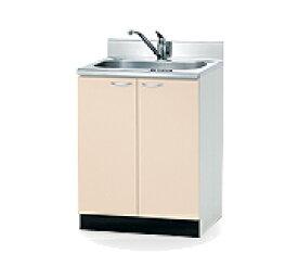 高級コンパクトキッチン流し台 幅60cm W600×550×800(890)mm CBO-60S 組み合わせキッチン