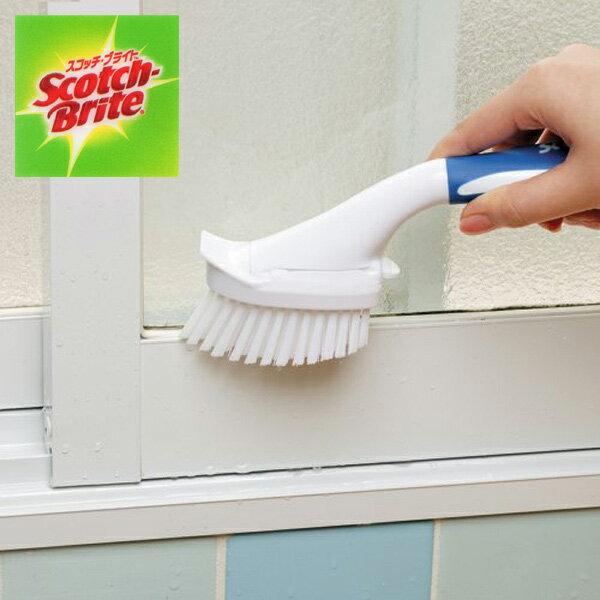 スコッチブライト ハンディブラシ 本体 S ( Scotch Brite お風呂 浴槽 バス 掃除 清掃 水アカ カビ ヌメリ 3M スリーエム )