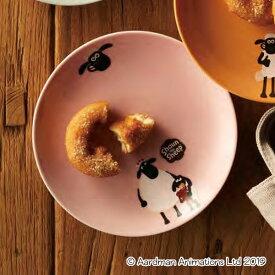 プレート 17cm ティミー&マミー ひつじのショーン 洋食器 磁器 日本製 美濃焼 ( 電子レンジ対応 食洗機対応 お皿 中皿 キャラクター 食器 取り皿 デザート皿 パン皿 かわいい おしゃれ キャラ 羊 )