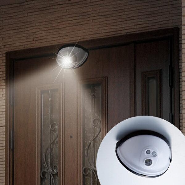 防犯ライト ドア用センサーライト ( 屋外用 玄関 防犯対策 防雨 LED )