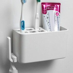 ラックスマグネット 歯ブラシラック ( バス 収納 ラック 磁石 マグネット 浴室 バスルーム お風呂 壁面 壁 壁面収納 歯ブラシ 歯磨き 歯磨き粉 バス用品 収納用品 洗面用品 白 )