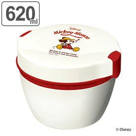 保温弁当箱 弁当箱 ミッキー 2段 620ml ( 食洗機対応 レンジ対応 保温 保冷 ランチボックス お弁当箱 ミッキーマウス ステンレス ディズニー ランチボウル )