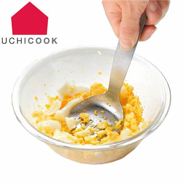 マッシャー マッシャーフォーク UCHICOOK ウチクック ステンレス製 日本製 ( キッチンツール 調理用品 調理器具 万能調理器 下ごしらえ ミニマッシャー ポテトマッシャー キッチン用品 調理小物 製菓道具 便利グッズ )