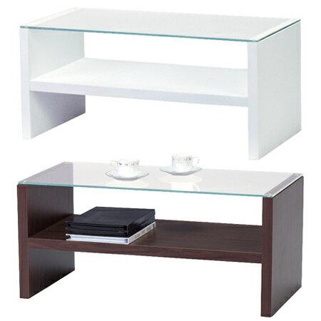 センターテーブル HA ( ガラステーブル ローテーブル リビングテーブル 机 送料無料 )