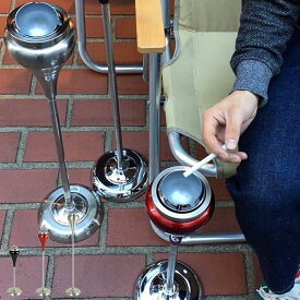 灰皿 ダルトン DULTON スタンド アッシュトレイ ボールポイント ( フタ付 スタンド 屋外 ふた 蓋 付き 喫煙具 おしゃれ 小物 )