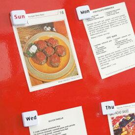 マグネット ダルトン DULTON MAGNETS OF THE WEEK ( マグネット キッチン 曜日マグネット 冷蔵庫 磁石 デスク 文具 おしゃれ アイディアグッズ キッチン雑貨 小物 雑貨 一週間 )