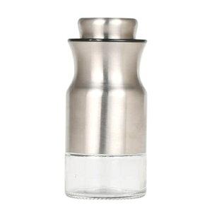 調味料入れ スパイスジャー Curved spice jar 90ml ダルトン DULTON ( 塩胡椒入れ 塩こしょう入れ ソルト ペッパー ステンレス製 調味料ボトル スパイスボトル 粉末調味料 卓上 調味料 入れ 容器 ボ