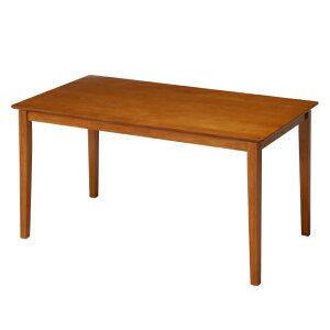 ダイニングテーブル 幅120cm 奥行75cm ライトブラウン 木製 天然木 ダイニング テーブル 机 4人掛け ( 送料無料 食卓テーブル 幅 120 リビングテーブル 食卓机 食卓 四人掛け 4人 木製テーブル