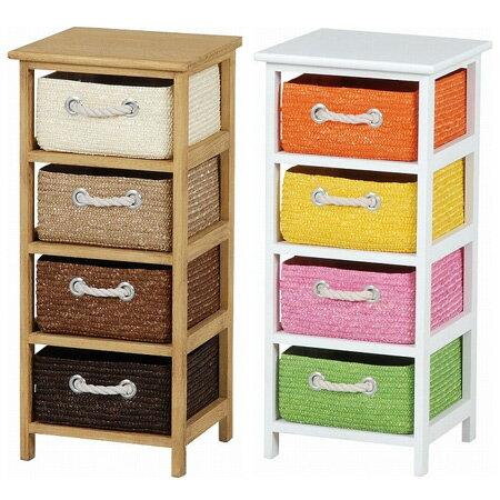 Laundry Chest Storage Chest Wicker Basket Slim 4 Drawer (storage Rack  Storage Case Living Storage Toy Box Toilets Sanitary Childrenu0027s Room Cart  Tallboy ...